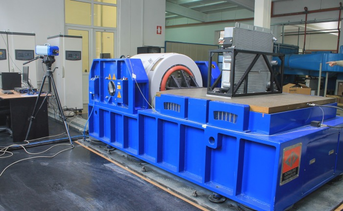 RAAL Testing Center – Electro-dynamic vibration system