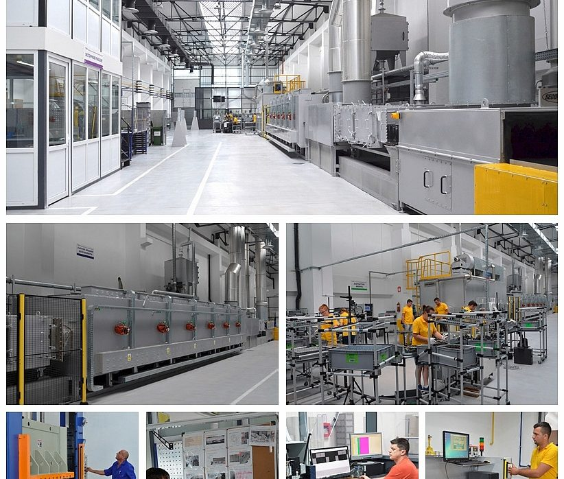 A new production hall for automotive applications